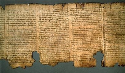 The Great Isaiah Scroll – one of the seven first Dead Sea Scrolls